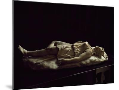 Statue of Dead Amazon, Roman Copy from Original Made by School of Pergamon--Mounted Giclee Print