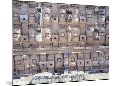 Decorations from the Temple of Codz-Poop Dedicated to the God of Rain Chac in Kabah--Mounted Giclee Print