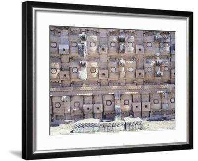 Decorations from the Temple of Codz-Poop Dedicated to the God of Rain Chac in Kabah--Framed Giclee Print