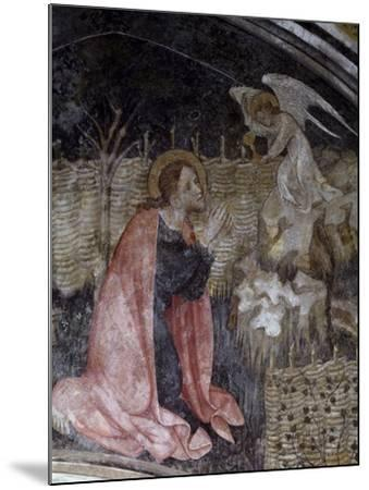 Jesus's Prayer in the Garden of Gethsemane, Detail from a Fresco by Giacomo Jaquerio--Mounted Giclee Print