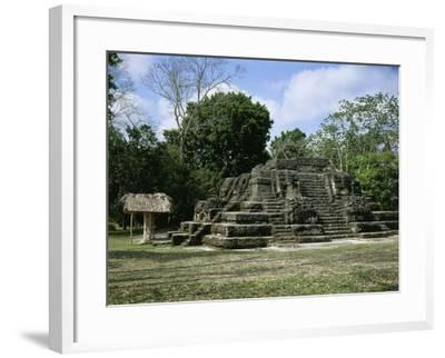 Astronomical Observatory of the Archaeological Mayan Site of Uaxactun, in Peten--Framed Giclee Print