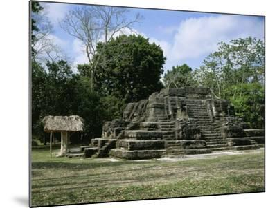 Astronomical Observatory of the Archaeological Mayan Site of Uaxactun, in Peten--Mounted Giclee Print