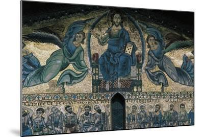 The Ascension of Christ, Mosaic on the Facade of the Basilica of St Fridianus--Mounted Giclee Print