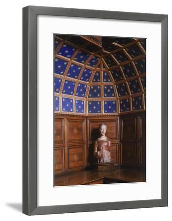 Madonna in Polychrome Terracotta Kept in the Sacristy, San Miniato Al Monte--Framed Giclee Print