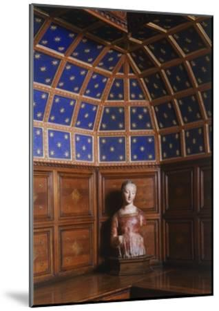 Madonna in Polychrome Terracotta Kept in the Sacristy, San Miniato Al Monte--Mounted Giclee Print