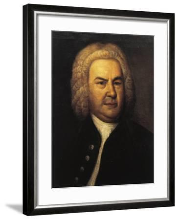 Germany, Leipzig, Portrait of German Composer and Organist, Johann Sebastian Bach--Framed Giclee Print
