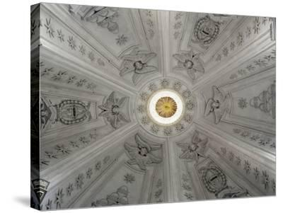 Detail of Interior of Dome of Church of St Yves at La Sapienza--Stretched Canvas Print