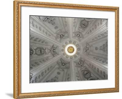 Detail of Interior of Dome of Church of St Yves at La Sapienza--Framed Giclee Print