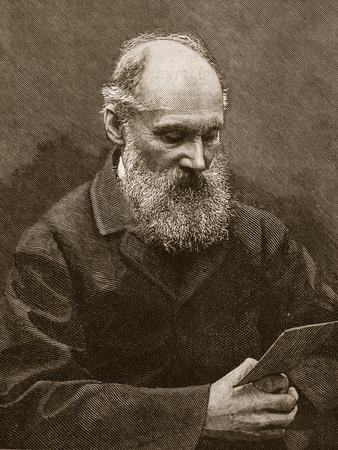 Sir William Thomson, Illustration from 'Cassell's Illustrated History of England'--Framed Giclee Print