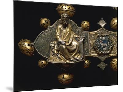 Processional Cross of Saint Maximus, in Silver, Enamel and Copper--Mounted Giclee Print