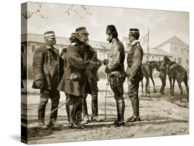 The Surrender of Yanina, 1913, Illustration from 'Hutchinson's History of the Nations', 1915--Stretched Canvas Print