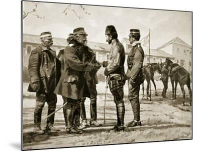 The Surrender of Yanina, 1913, Illustration from 'Hutchinson's History of the Nations', 1915--Mounted Giclee Print
