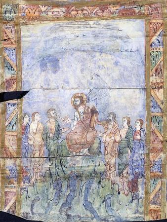 The Miracle of Christ Calming the Tempest and His Arrival in the Country of the 'Gergesenes'--Stretched Canvas Print