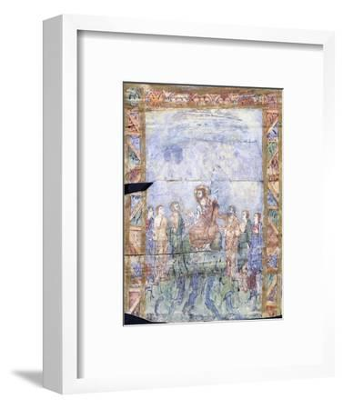 The Miracle of Christ Calming the Tempest and His Arrival in the Country of the 'Gergesenes'--Framed Giclee Print