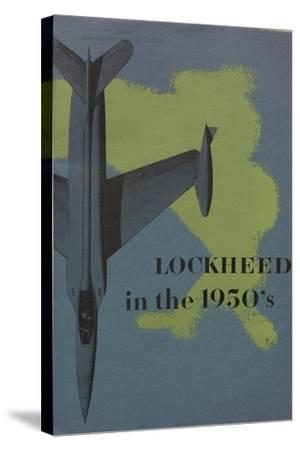 Lockheed in the 1950S', Advertisement for the Lockheed Aircraft Corporation, C.1960--Stretched Canvas Print