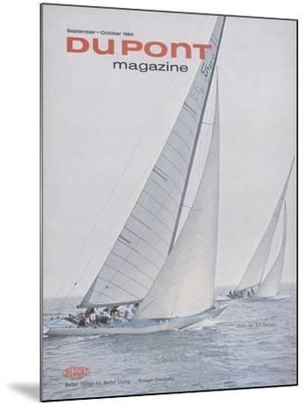 Sails for All Sailors, Front Cover of 'The Du Pont Magazine', September-October 1964--Mounted Giclee Print