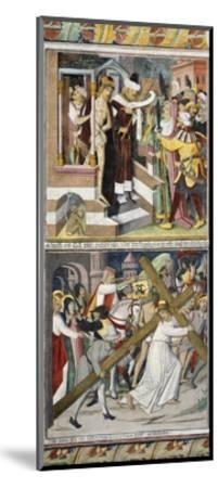 Ecce Homo and Jesus Carrying Cross-Giovanni Canavesio-Mounted Giclee Print
