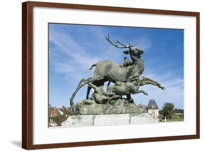 Hunting for Deer--Framed Giclee Print
