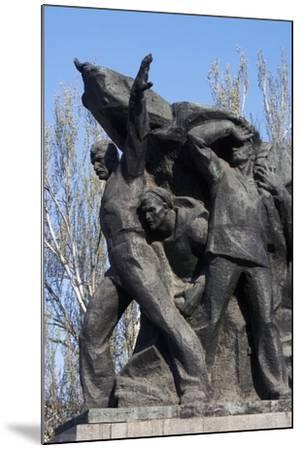 Memorial to Mutinous Sailors of Battleship Potemkin, Who Supported Workers' Revolt of 1905--Mounted Giclee Print