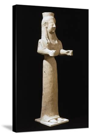 Goddess Statue--Stretched Canvas Print