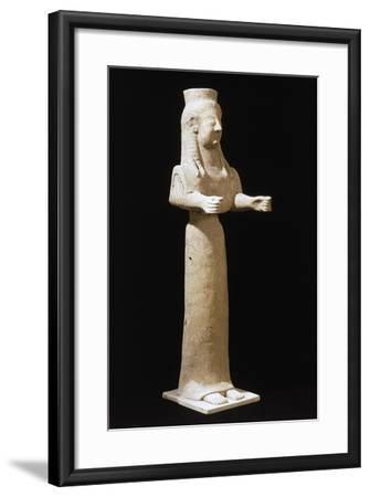 Goddess Statue--Framed Giclee Print