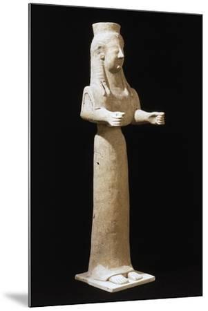 Goddess Statue--Mounted Giclee Print
