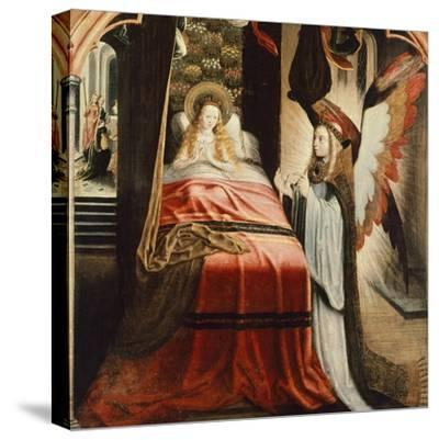 The Apparition of Angel, Scene from St Ursula Cycle, 1500--Stretched Canvas Print