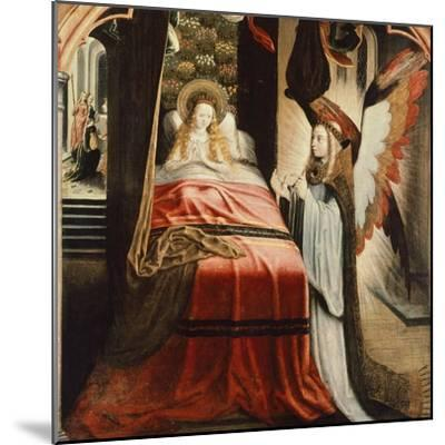The Apparition of Angel, Scene from St Ursula Cycle, 1500--Mounted Giclee Print