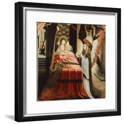The Apparition of Angel, Scene from St Ursula Cycle, 1500--Framed Giclee Print