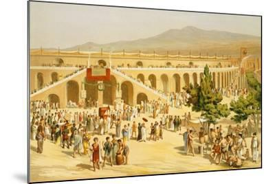 Reproduction of the Market-Fausto and Felice Niccolini-Mounted Giclee Print