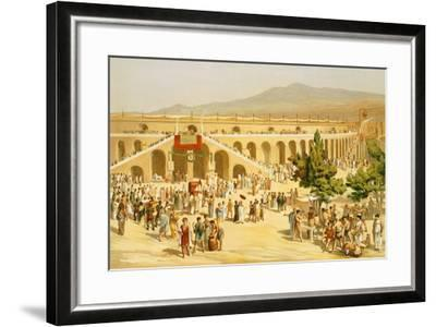 Reproduction of the Market-Fausto and Felice Niccolini-Framed Giclee Print