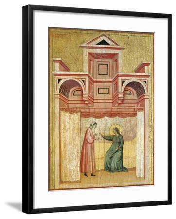 Cecilia Persuading Her Husband Valerian to Baptism--Framed Giclee Print