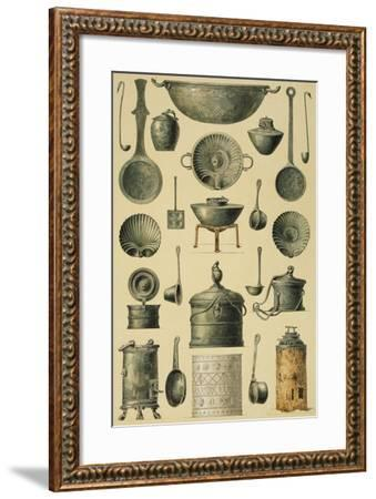 Reproduction of Cooking Utensils-Fausto and Felice Niccolini-Framed Giclee Print