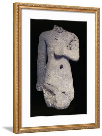 Headless Statue--Framed Giclee Print