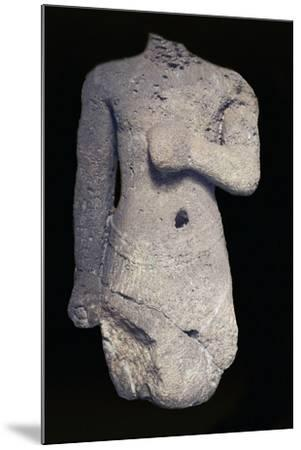 Headless Statue--Mounted Giclee Print