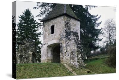 Porte De France--Stretched Canvas Print