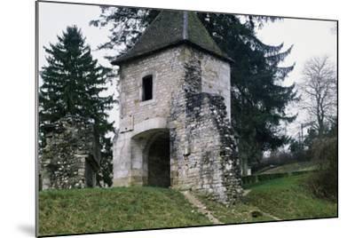 Porte De France--Mounted Giclee Print