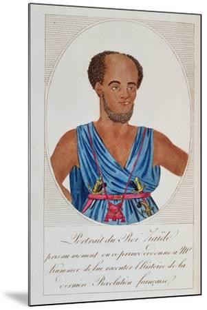 King Zaide, Senegal, Frontispiece of 'Naufrage De La Frégate La Méduse'--Mounted Giclee Print