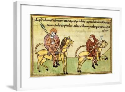 The Knights of the Apocalypse--Framed Giclee Print