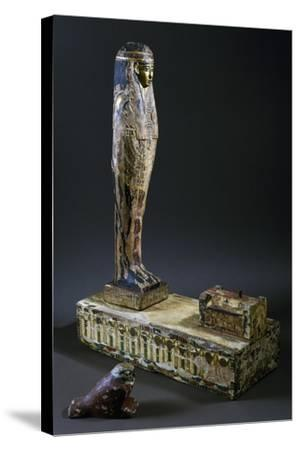God Ptah-Sokar-Osiris--Stretched Canvas Print
