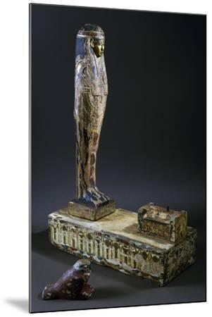 God Ptah-Sokar-Osiris--Mounted Giclee Print
