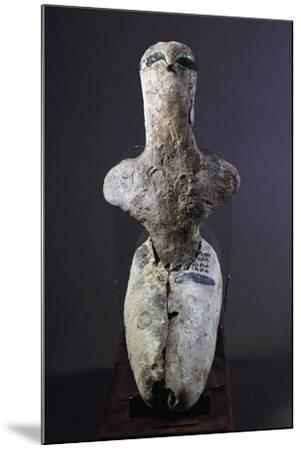 Steatopygia Female Figure--Mounted Giclee Print