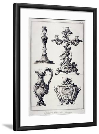Goldsmith's or Silversmith's Pieces--Framed Giclee Print
