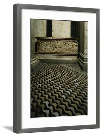 Late-Roman Sarcophagus--Framed Giclee Print