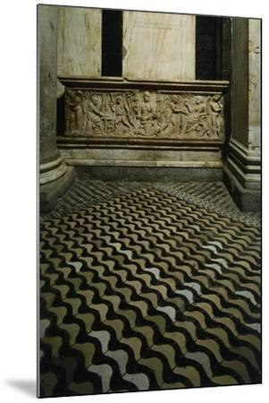 Late-Roman Sarcophagus--Mounted Giclee Print
