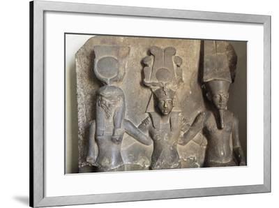 Stele of Horemheb's Coronation--Framed Giclee Print