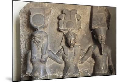 Stele of Horemheb's Coronation--Mounted Giclee Print