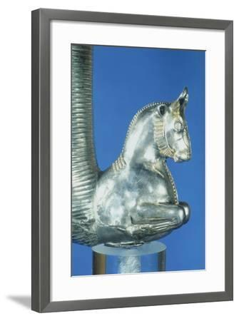 Rython with Protome in Shape of Bull--Framed Giclee Print