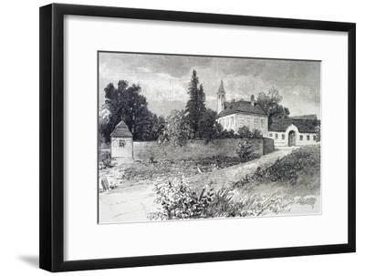 Mayerling Hunting Lodge--Framed Giclee Print