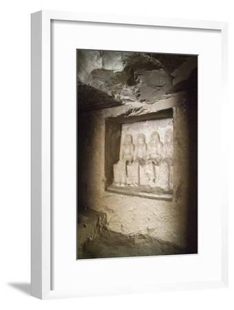 Tomb of Granary Scribe at Amon's Estate Piay--Framed Giclee Print